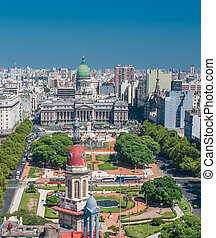Panorama of Buenos Aires, Argentina