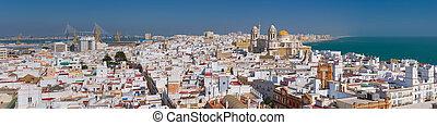 Panorama of Cadiz
