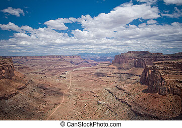 Panorama of Canyonlands, Utah, USA