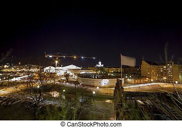 Capital City of Finland, Helsinki - Panorama of Capital City...