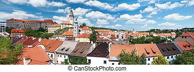 Panorama of Cesky Krumlov - Panorama Cesky Krumlov. Czech ...