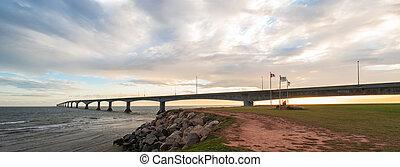Panorama of Confederation Bridge