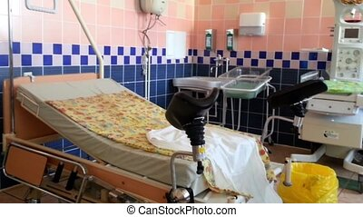 Panorama of delivery room in prenat