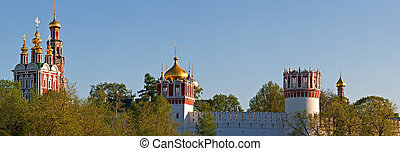 Panorama of domes and towers