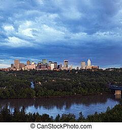 Panorama of Edmonton