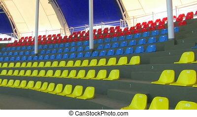 Panorama of empty auditorium