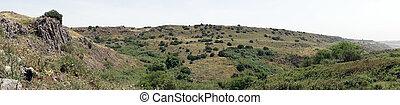 Panorama of Golan Heights