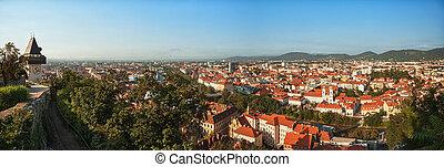 Panorama of Graz