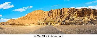 Panorama of Hatshepsut Temple