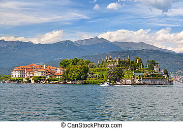 Panorama of Isola Bella