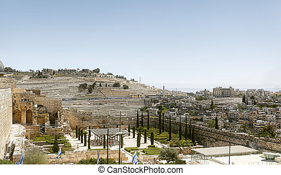 Panorama of Jerusalem city