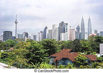 Kuala Lumpur - Panorama of Kuala Lumpur. Malasia