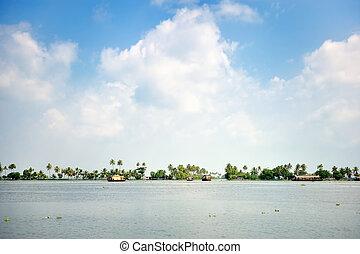 Panorama of Lagoon