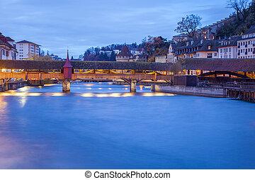 Panorama of Lucerne