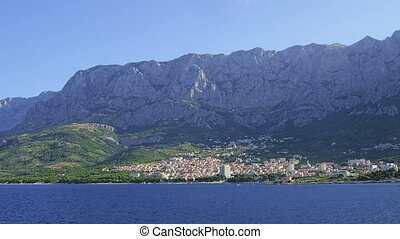 Panorama of Makarska