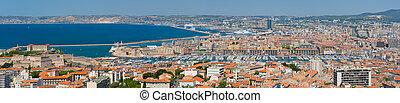 Panorama of Marseille
