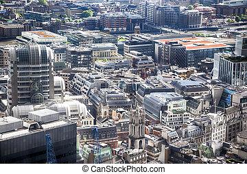modern London city