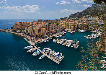 Panorama of Monaco