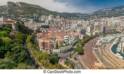 Panorama of Monte Carlo timelapse from the observation deck...
