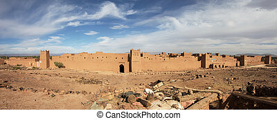 Panorama of Moroccan fortress
