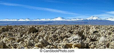 Panorama of Mountain in Atacama Desert Chile