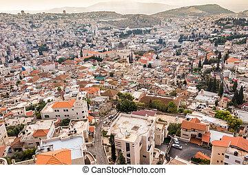 Panorama of Nazareth, Israel