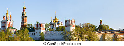 Panorama of Novodevichy Convent
