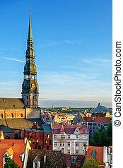 Panorama of Old Riga