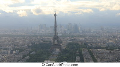 Panorama of Paris - Panorama of Tour Eiffel and national...
