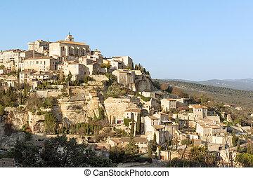 Gordes village in Provence