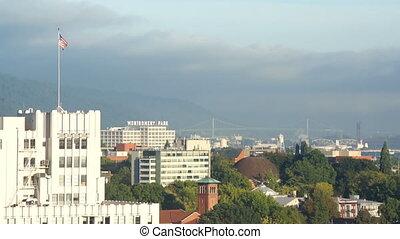 Portland - Panorama of Portland town