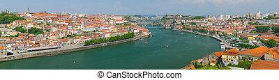 Porto in a summer day