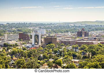 Panorama of Rapid City, South Dakota. - Panorama of Rapid...