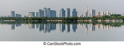 Panorama of reflection