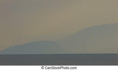 Panorama of sea and rocks