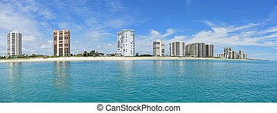 Panorama of Singer Island, Florida