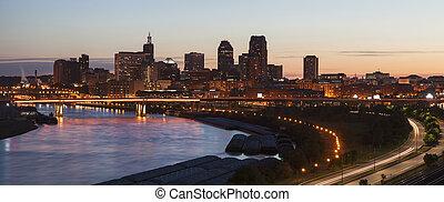 Panorama of St. Paul