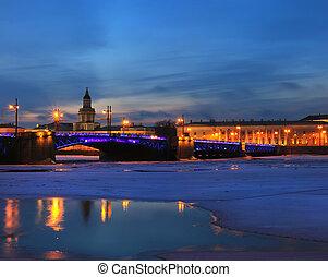 panorama of St. Petersburg, Russia