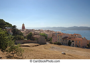 St Tropez from viewpoint