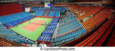 Panorama of stadium