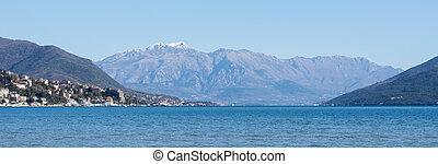 Panorama of the adriatic sea islands