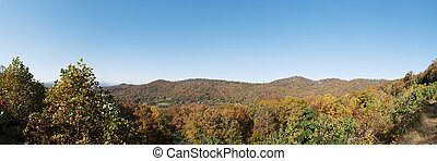 Panorama of the Blue Ridge