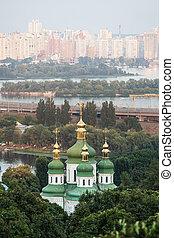 Panorama of the city Kiev