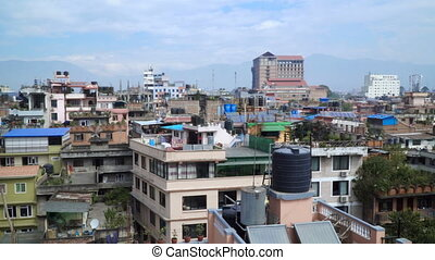 Panorama of the city of Kathmandu - Panorama of the city...