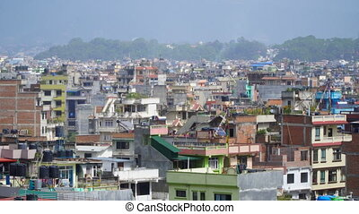 Panorama of the city of Kathmandu - View of Kathmandu from...