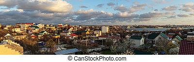 Panorama of the city Sevastopol