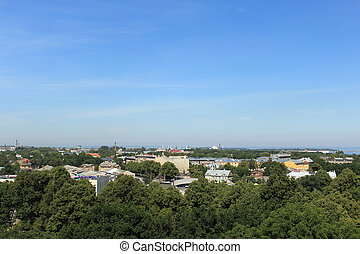 Panorama of the city
