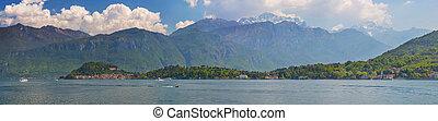 Panorama of the Lake of Como