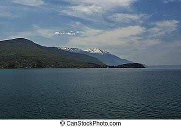 Panorama of the lake