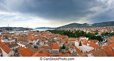 Panorama of Trogir, Croatia